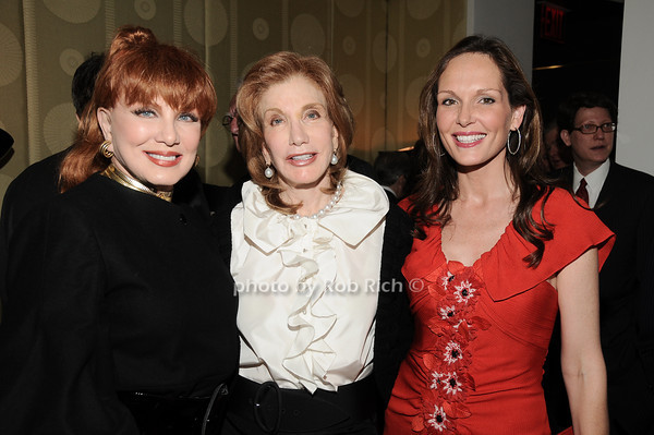 Georgette Mossbacher, Elizabeth Kabler, Clo Cohen<br /> photo by Rob Rich © 2010 robwayne1@aol.com 516-676-3939
