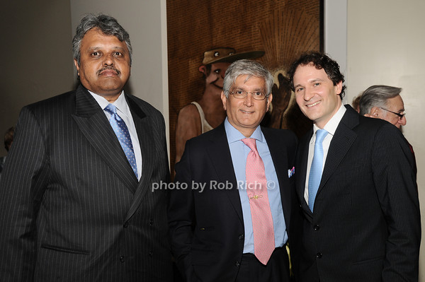 Lingaraj  Urs, Ashok Rabheru, David Hryck<br /> photo by Rob Rich © 2010 robwayne1@aol.com 516-676-3939