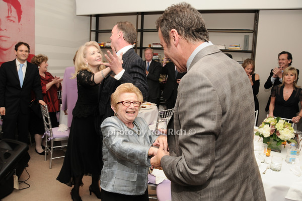 Dr.Ruth Westheimer, Colin Cowie<br /> photo by Rob Rich © 2010 robwayne1@aol.com 516-676-3939