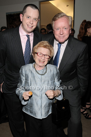 Michael Burch, Dr. Ruth Westheimer, Frank Burch<br /> photo by Rob Rich © 2010 robwayne1@aol.com 516-676-3939