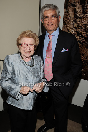 Dr. Ruth Westheimer, Ashok Rabheru <br /> photo by Rob Rich © 2010 robwayne1@aol.com 516-676-3939