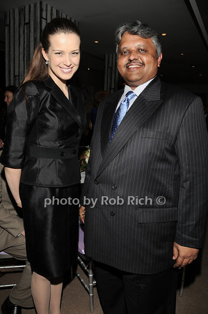 Petra Nemcova, Lingaraj  Urs<br /> photo by Rob Rich © 2010 robwayne1@aol.com 516-676-3939