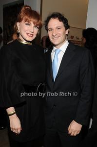 Georgette Mossbacher, David Hryck  photo by Rob Rich © 2010 robwayne1@aol.com 516-676-3939