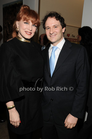 Georgette Mossbacher, David Hryck <br /> photo by Rob Rich © 2010 robwayne1@aol.com 516-676-3939