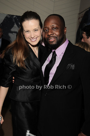 Petra Nemcova, Wyclef Jean<br /> photo by Rob Rich © 2010 robwayne1@aol.com 516-676-3939