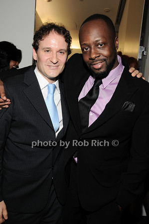 David Hryck, Wyclef Jean<br /> photo by Rob Rich © 2010 robwayne1@aol.com 516-676-3939