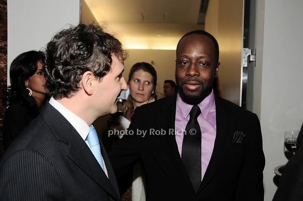 David Hryck, Wyclef Jean<br /> photo by Rob Rich © 2010 robwayne1@aol.com 516-676-3939