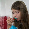 Eating the Blue Ice at Brusters