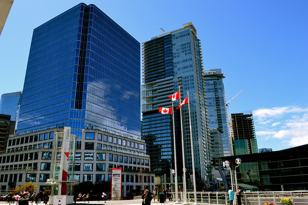A walk  downtown Vancouver