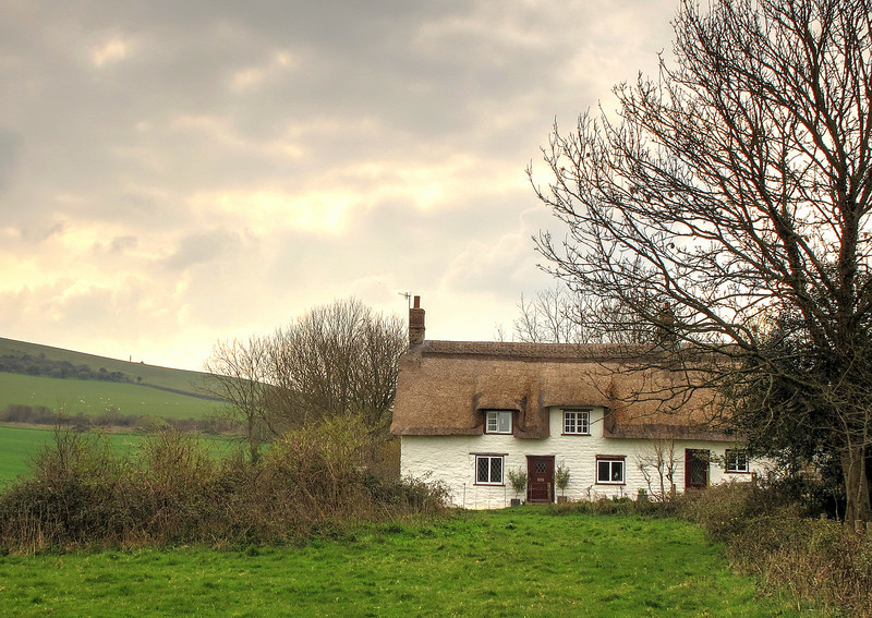 A cottage at Woodhouse, Studland.