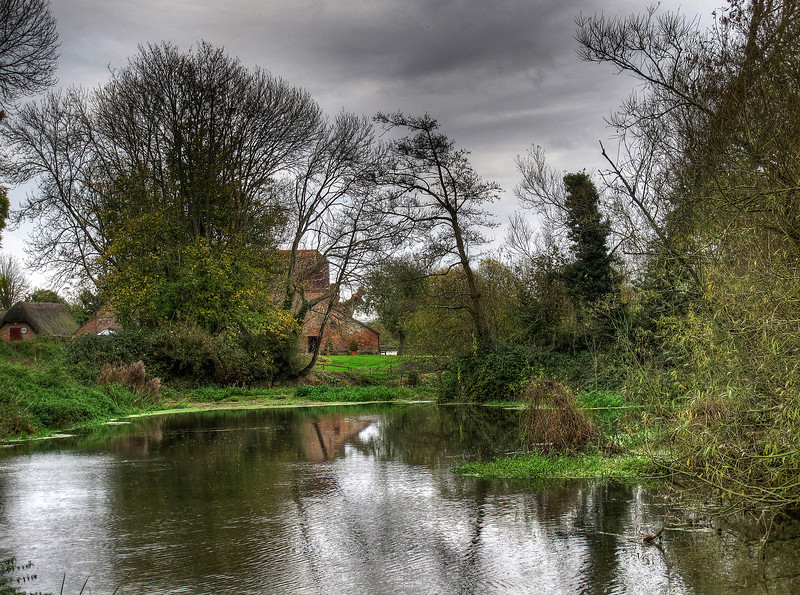 White Mill, Sturminster Marshall - still in working condition and in the hands of the national Trust.