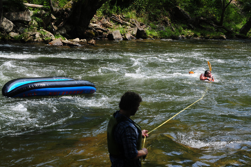 ...And this is just the joys of rafting or kayaking on a river.