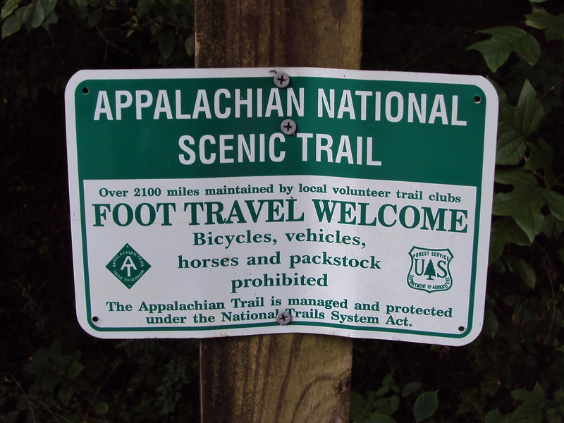 Here are the rules of the trail!
