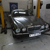 A738UUW-XJ12 Series3 : This 1983 Series 3 Saloon has been with KWE for several years awaiting a client to commission its restoration. That has now (2014) happened and we're on the road to bringing this most lovely of saloon cars back to glorious life. With under 46,000 miles on the clock it is structurally and mechanically in good shape. The body will be stripped and repainted in solid black, new KWE suspension, new wood veneers and much more will make this a classic but useable head-turner