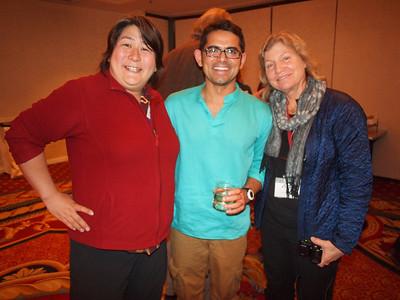 Karen, Harjant and Sara.