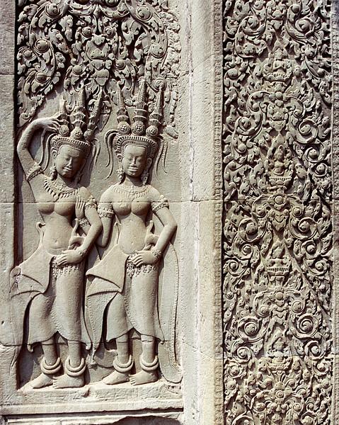 Apsaras, Angkor Wat, CAMBODIA