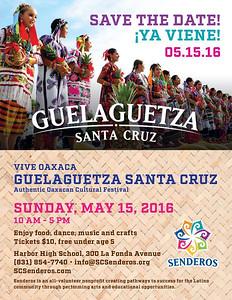 5-15-2016 GUELAGUETZA SANTA CRUZ - FOLK SENDEROS