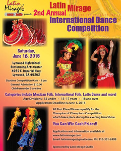 6-18-2016 INTERNATIONAL DANCE COMPETITION