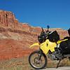 Feeling small amidst the grand beauty of Moab, Utah.