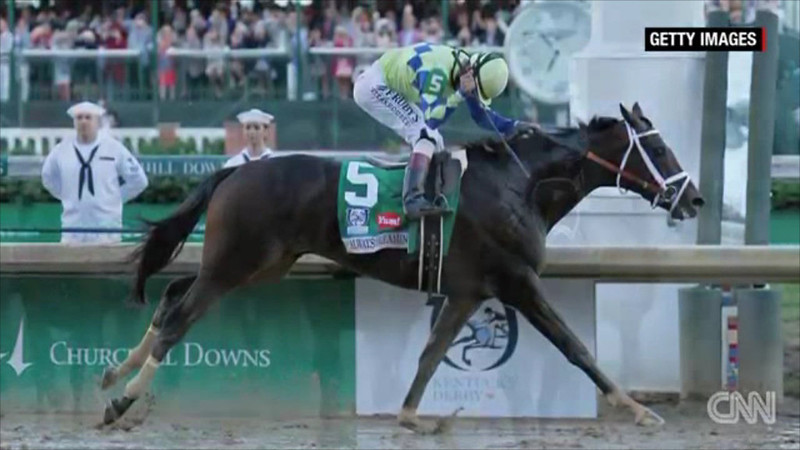 Ver 5: video 2:47 minutes Kentucky Derby snippet of 42 seconds from 2:29 total