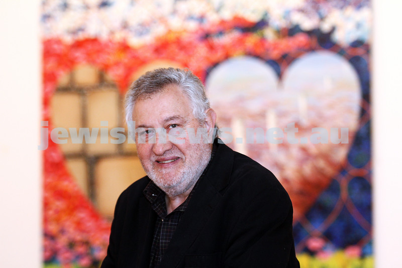 8-5-12. Victor Majzner at the opening of his new exhibition at the Glen Eira Town Hall. Photo: Peter Haskin