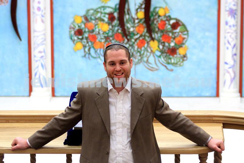 22/2/10. Rabbi Ben Hassan. New rabbi at Melbourne's Sephardi shul. photo: peter haskin