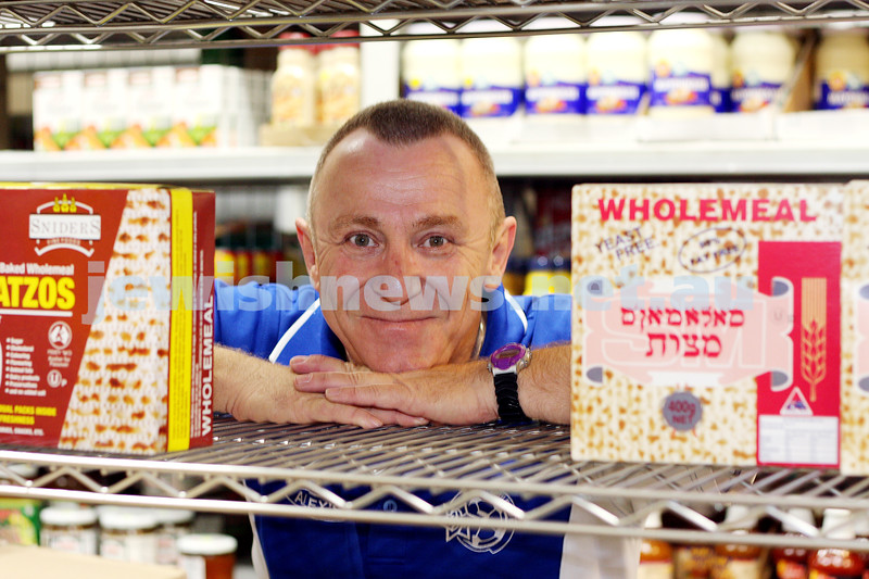 alex spitanik. alex's kosher supermarket. photo: peter haskin