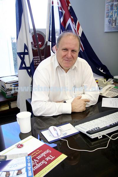 Eitan Drori, Executive Director: Australian Friends of the Hebrew University Jerusalem, Vic Division. Photo: peter haskin