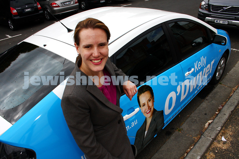 17-11-09. Kelly O'Dwyer . New candidate for the seat of Higgins left vacant by the retirement of Peter Costello. Photo: Petr Haskin
