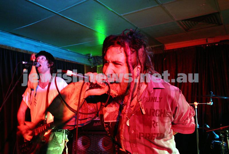 Yidcore. Green Room. 2005. Photo: Peter Haskin