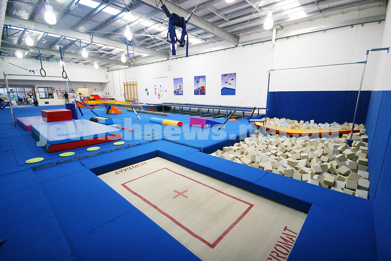 26/5/09. Bialik Coillege. Sports facilities. Gymnasium room. photo: peter haskin