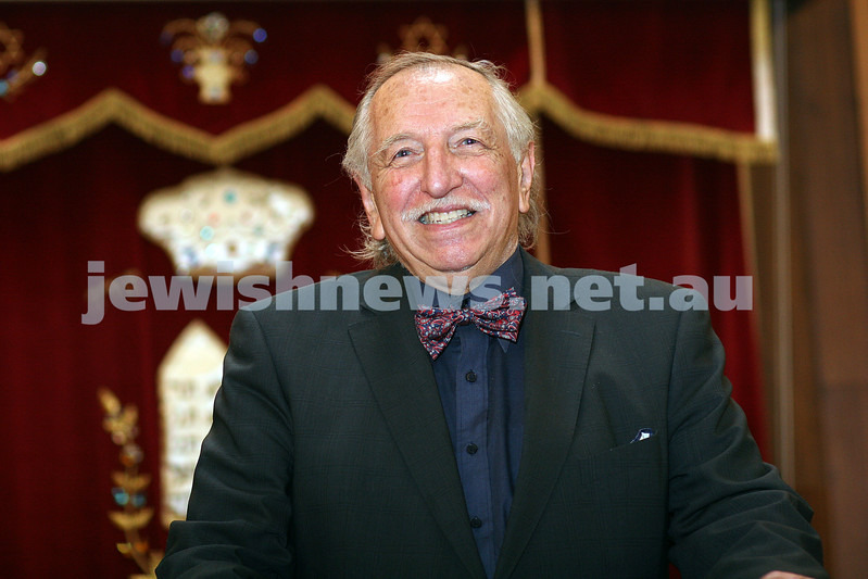 Ben Alexander OAM. Queens Birthday honours 2009. photo: peter haskin