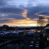 Victoria at sunset