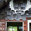 Closed lumber company outside Ketchikan