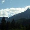 East of Seattle-- mountains on bus trip to Central Washington U
