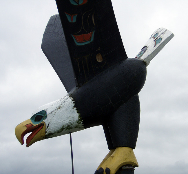 Ketchikan carved eagle