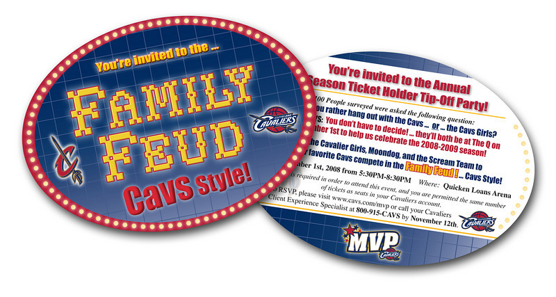 Design: Cleveland Cavaliers  MVP invite
