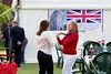 Guests at at the Royal Wedding Party held by the Ahmadiyya Musllim Community UK