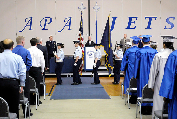 APA graduated their first senior class on Thursday.