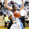 Don Knight / The Herald Bulletin<br /> APA's D'Eric Whitt looks to pass as the Jets hosted Morristown on Thursday.