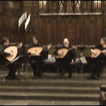 VENERE LUTE QUARTET. GEMS Live! showcase concert, January 11, 2009, NYC.  Video by Paul Ross.