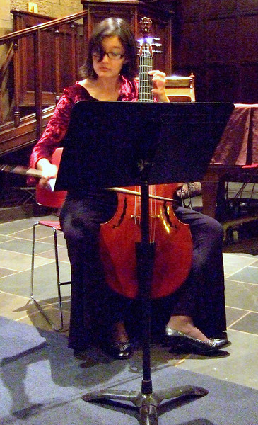 AGAVE BAROQUE.  GEMS Live! showcase concert, January 11, 2009, NYC.  Photo by Charles Coldwell.