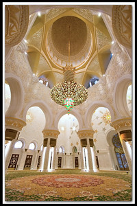 "GRAND MOSQUE (ABU DHABI) UAE - Sheikh Zayed Bin Sultan Al Nahyan Mosque in Abu Dhabi Popularly called Grand Mosque by local residents, was initiated by the late president HH Sheikh Zayed bin Sultan Al Nahyan, who is fondly thought of as the father of UAE.  The majestic Sheikh Zayed Bin Sultan Al Nahyan Mosque is probably the most imposing religious and national landmark in Abu Dhabi to date. It is also arguably one of the most important architectural treasures of the contemporary UAE society - and one of the most beautiful in the world.  The Sheikh Zayed Bin Sultan Al Nahyan Mosque, popularly is seen as a ""globally unifying"" landmark from its conception to completion, bringing together designers, features, materials and suppliers from nearly every corner of the globe: Italy, Germany, Morocco, India, Turkey, Iran, China, Greece and the UAE."