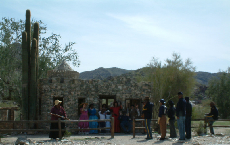 Buffalo Soldiers of the Arizona Territory - Ladies and Gentlemen of the Regiment, Mesa, AZ.