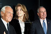 Giorgio Armani, Caroliine Kennedy, Mayor Michael Bloomberg <br />  photo  by Rob Rich © 2009 robwayne1@aol.com 516-676-3939
