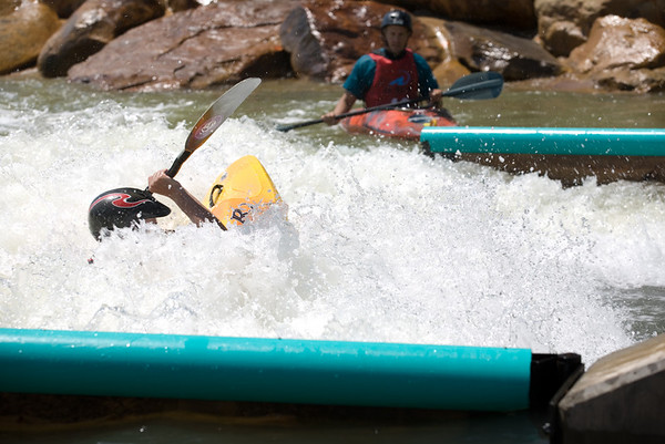 ASCI artificial whitewater course, Wisp Western MD