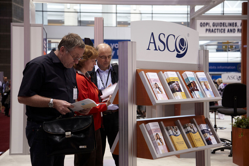 Chicago, IL - ASCO 2010 Annual Meeting: General Views at the American Society for Clinical Oncology Annual Meeting here today, Saturday June 5, 2010. Over 25,000  physicians, researchers and healthcare professionals from over 100 countries are attending the meeting which is being held at the McCormick Convention center and features the latest cancer research in the areas of basic and clinical science. Date: Saturday June 5, 2010 Photo by © ASCO/Todd Buchanan 2010 Technical Questions: todd@toddbuchanan.com; ASCO Contact: photos@asco.org