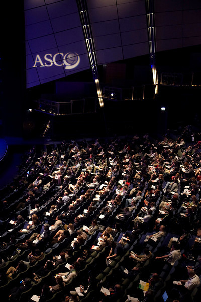 Chicago, IL - ASCO 2010 Annual Meeting: General Views of Aire Crown Theater at the American Society for Clinical Oncology Annual Meeting here today, Sunday June 6, 2010. Over 25,000  physicians, researchers and healthcare professionals from over 100 countries are attending the meeting which is being held at the McCormick Convention center and features the latest cancer research in the areas of basic and clinical science. Date: Sunday June 6, 2010 Photo by © ASCO/Todd Buchanan 2010 Technical Questions: todd@toddbuchanan.com; ASCO Contact: photos@asco.org