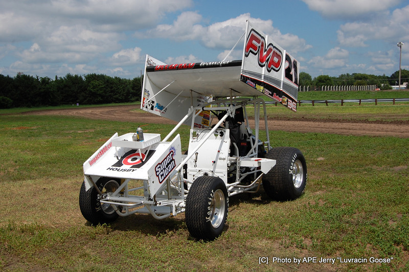 The Sprinter is Missing the ASCS 360 cause it had a 410 in at Knoxville Ia.
