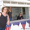 "Pit Gate Crew Boone County Raceway ""PIt Shack"" Ladies."